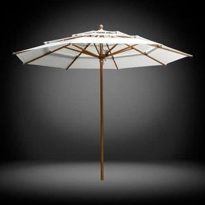 Solero Lasagna Pro wooden parasol