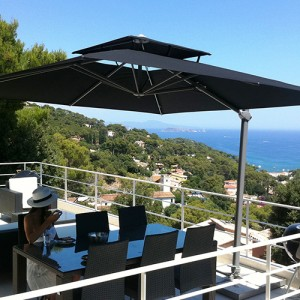luxury garden commercial parasols official solero website. Black Bedroom Furniture Sets. Home Design Ideas
