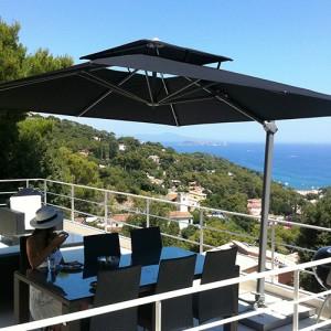 professional garden commercial parasols solero. Black Bedroom Furniture Sets. Home Design Ideas