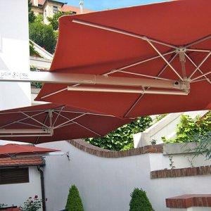 P4 Pro wall parasol Ø250cm