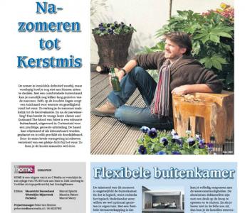 Home-bijlage in het ZondagNieuws Editie Zuid-Limburg 29 september 2013